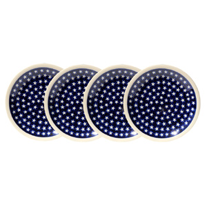 Set of 4 Dinner Plates  11 Inch