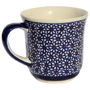 Polish Pottery Coffee Mug 14 oz.